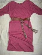Sukienka z dzianinki L XL