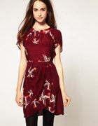 Warehouse Skylark Print Dress...