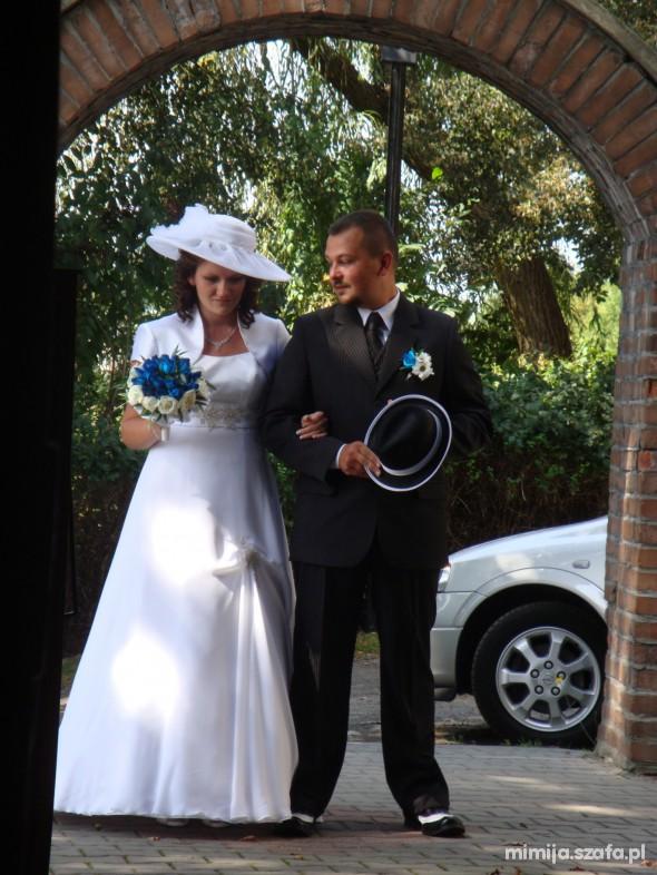 Na specjalne okazje Moja skromna suknia ślubna