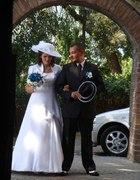 Moja skromna suknia ślubna