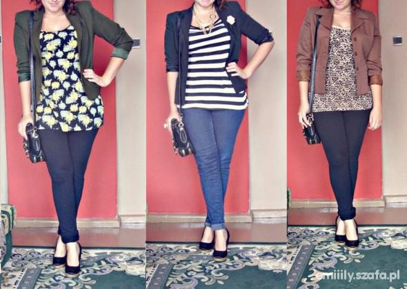Mój styl Trzy razy blazer