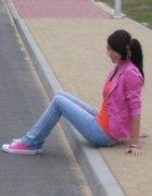 pink&orange...