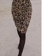 sukienka panterka