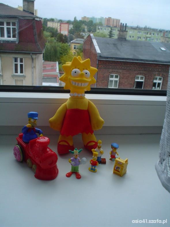 Zabawki Zabawki Simpsonowie komplecik