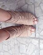 nude open toe