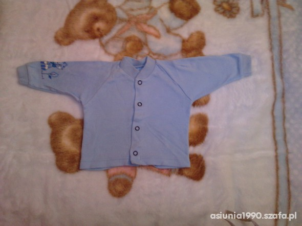 Koszulki, podkoszulki niebieska koszulka rozm 62