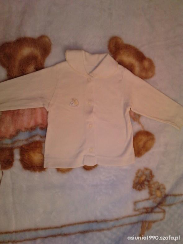 Koszulki, podkoszulki koszulka na długi rękaw ze ślimaczkiem rozm 62