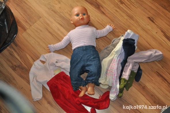 Zabawki lala 59 cm plus ubranka