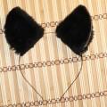 Czarne kocie uszka