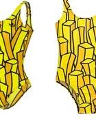 Jeremy Scott french fries swimsuit frytki kostium...