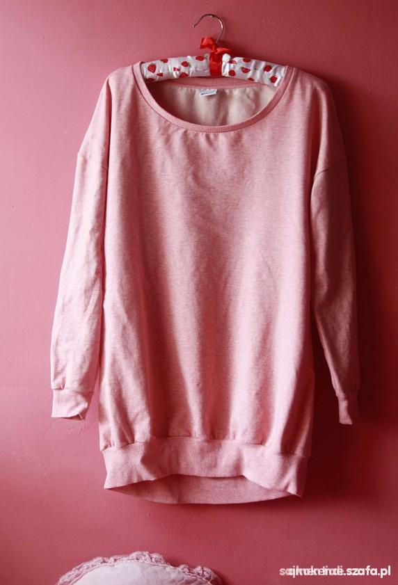 Pudrowa bluza Gina Tricot...