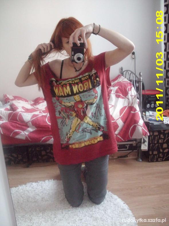 Mój styl oversize iron man