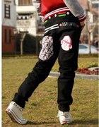 Spodnie skate hip hop baggy rurki damskie...