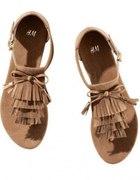 Nowe sandałki karmelowe H&M 38