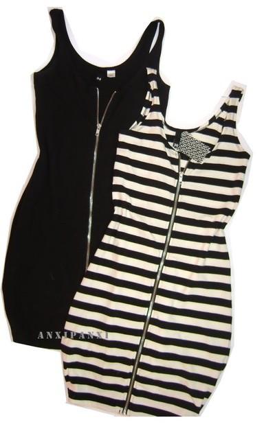 zip dress h&m xs