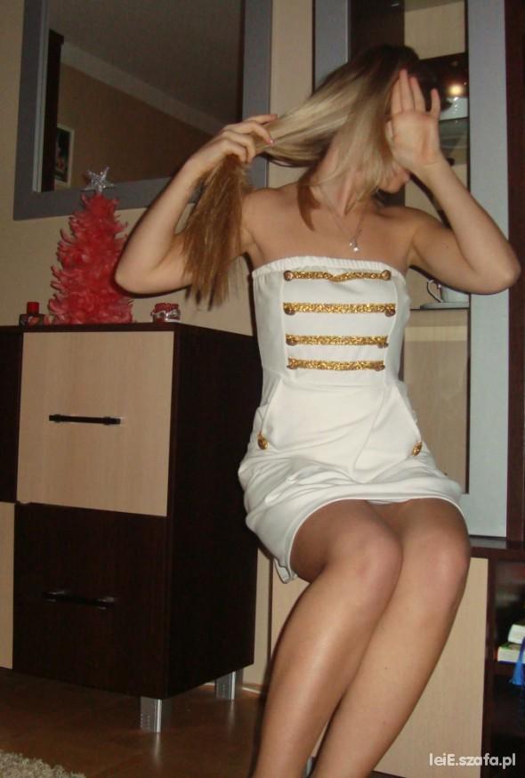 Marynarskamarynarz sukieneczka bombka