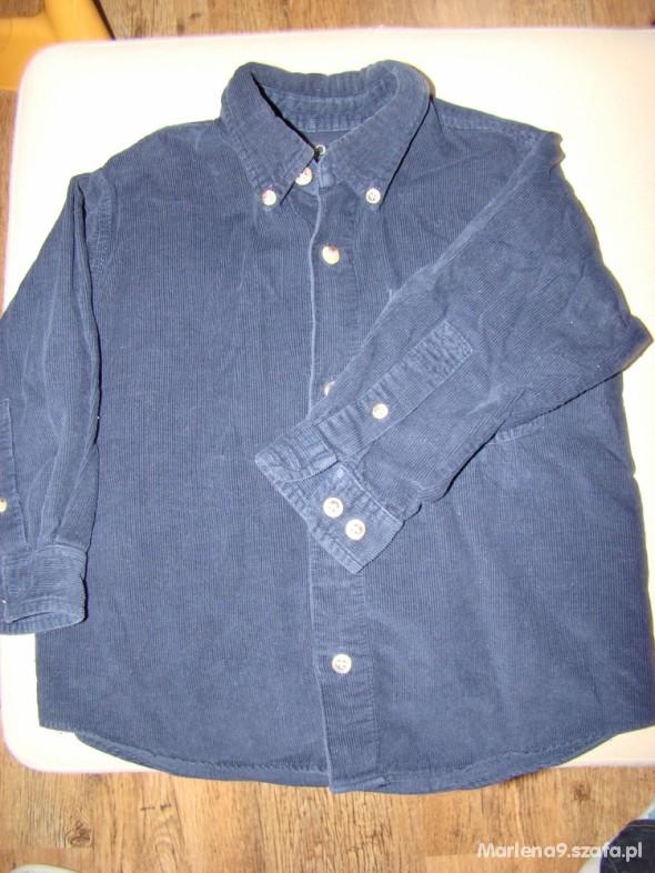 Koszulki, podkoszulki Koszula sztruksowa 92
