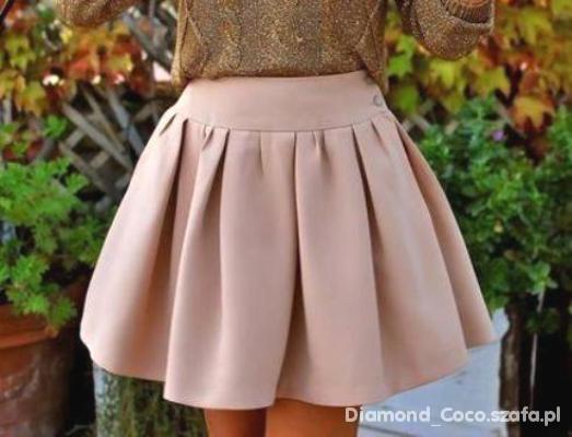 Łososiowa spódnica