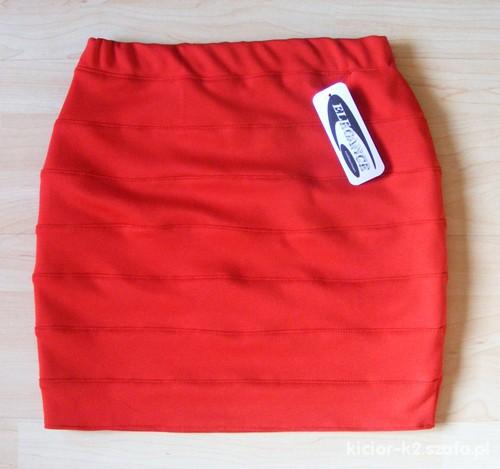 Spódnice Spódnica bandażowa 34 czerwona
