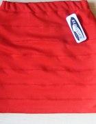 Spódnica bandażowa 34 czerwona
