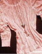 Różowa Koronka roz S lub XS