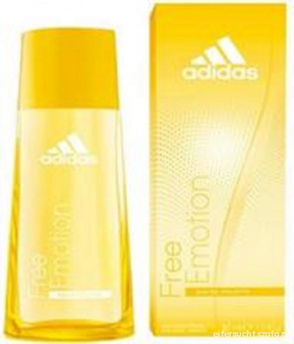 Perfumy nowe perfumy adidas żółte w pudełku 50 ml