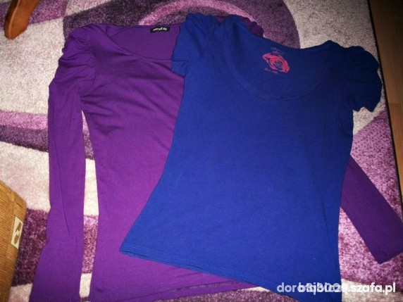 fajne bluzki szczególnie fioletowa