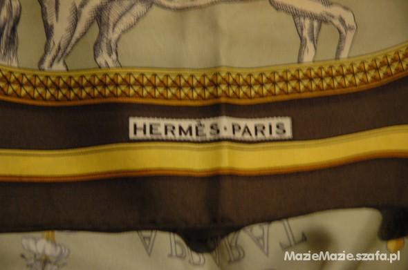 Chusty i apaszki Apaszka z jedwabiu Hermes Paris