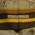 Apaszka z jedwabiu Hermes Paris