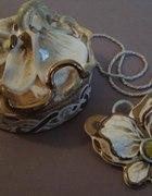 Orchidea ręcznie formowana porcelana 2...