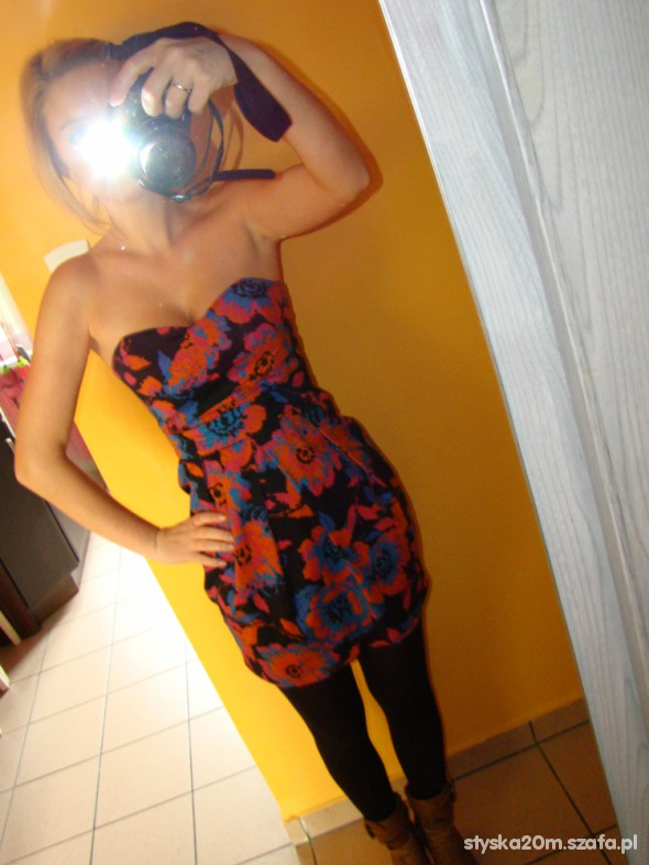 Eleganckie Jesienna sukienka