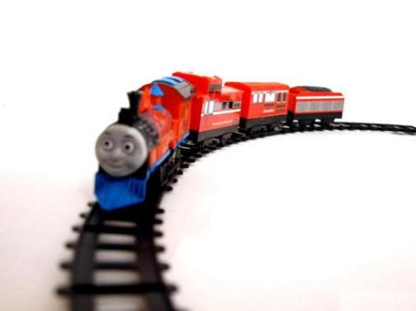 Zabawki Interaktywna kolejka Tomek i przyjaciele