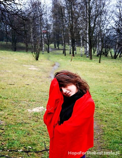 Romantyczne Lady in red
