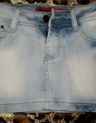 krotka mini jeansowa...