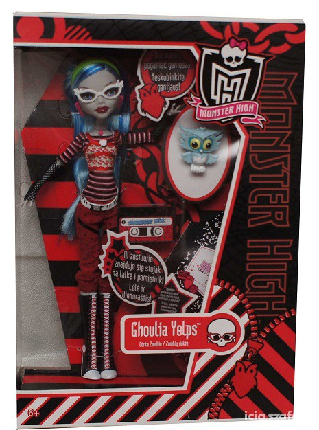 Zabawki Lalka Ghoulia