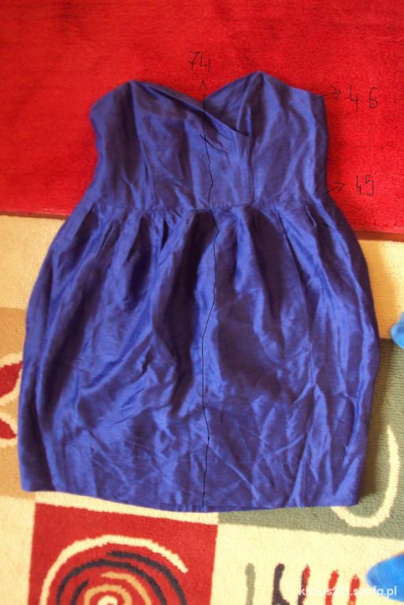 Chabrowa sukienka ala gorsetowa 46cena z wsylka