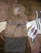 Kożuszek i spódniczka