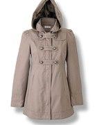 Mój płaszcz Orsay 36 beż styl militarny