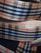 Sznurówki lub tasiemka wstążka w kratkę Burberry