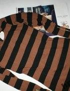 Sukienka Tunika w pasy