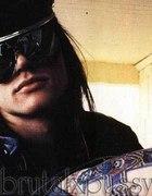 OK19 NOWE okulary AVIATOR czarne AXL ROSE klasyki