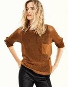 Sweter H&M rdzawobrązowy