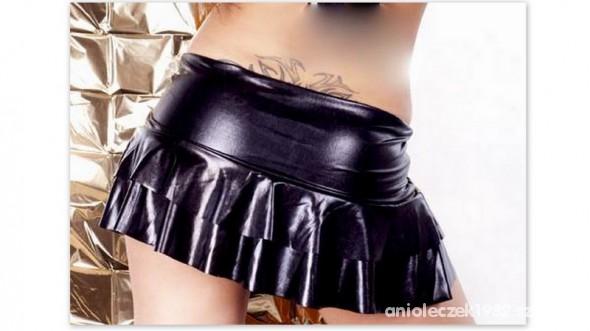 Spódnice mini latex