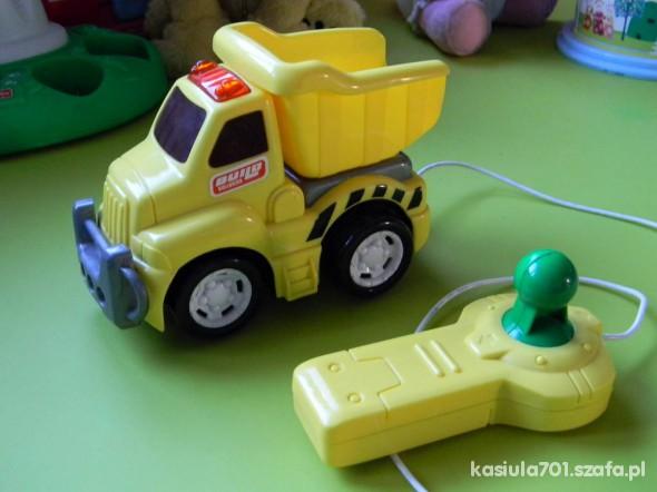 Zabawki Świetna wywrotka z pilotem dla maluszka