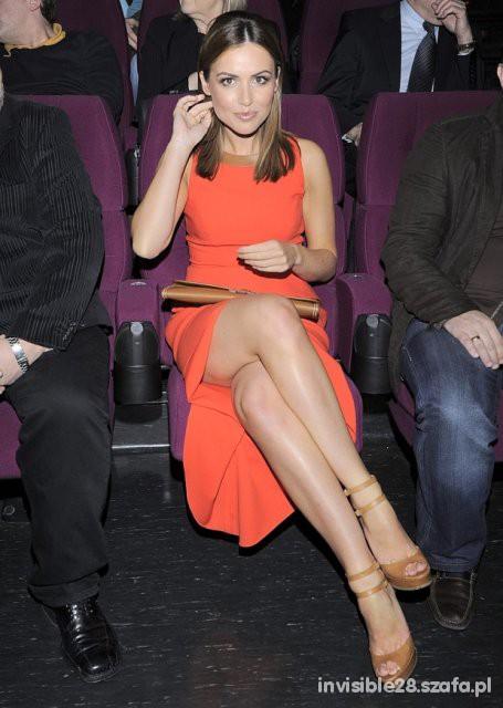 Eleganckie kobiecy oranż