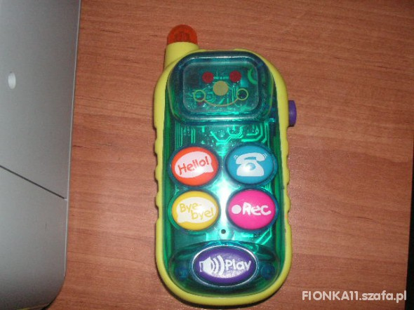 Zabawki TELEFON Z NAGRYWARKĄ