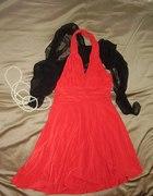 Czerwona sukienka ala Marilyn Monroe