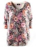 Swetr Oversize Floral H&M