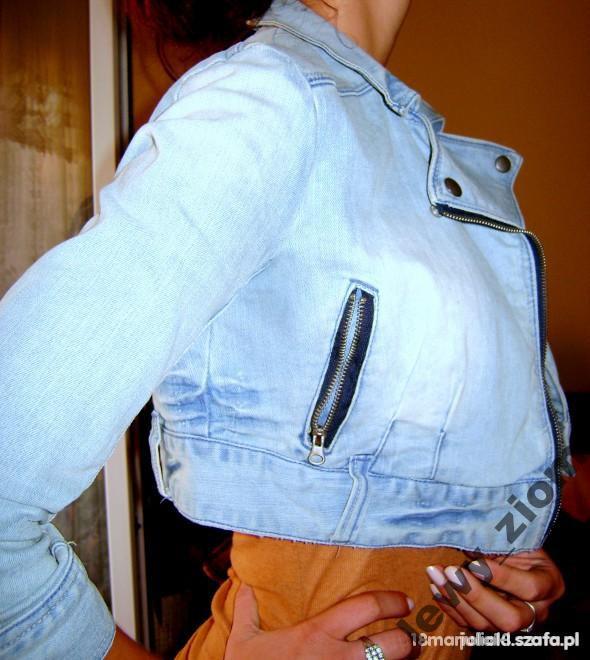 ramoneska jeansowa Terranova...
