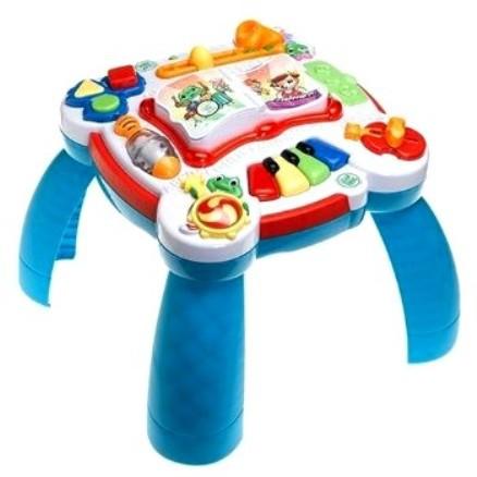 Zabawki DUŻY STOLIK MUZYCZNO EDUKACYJNY DWUJĘZYCZNY ANG FR